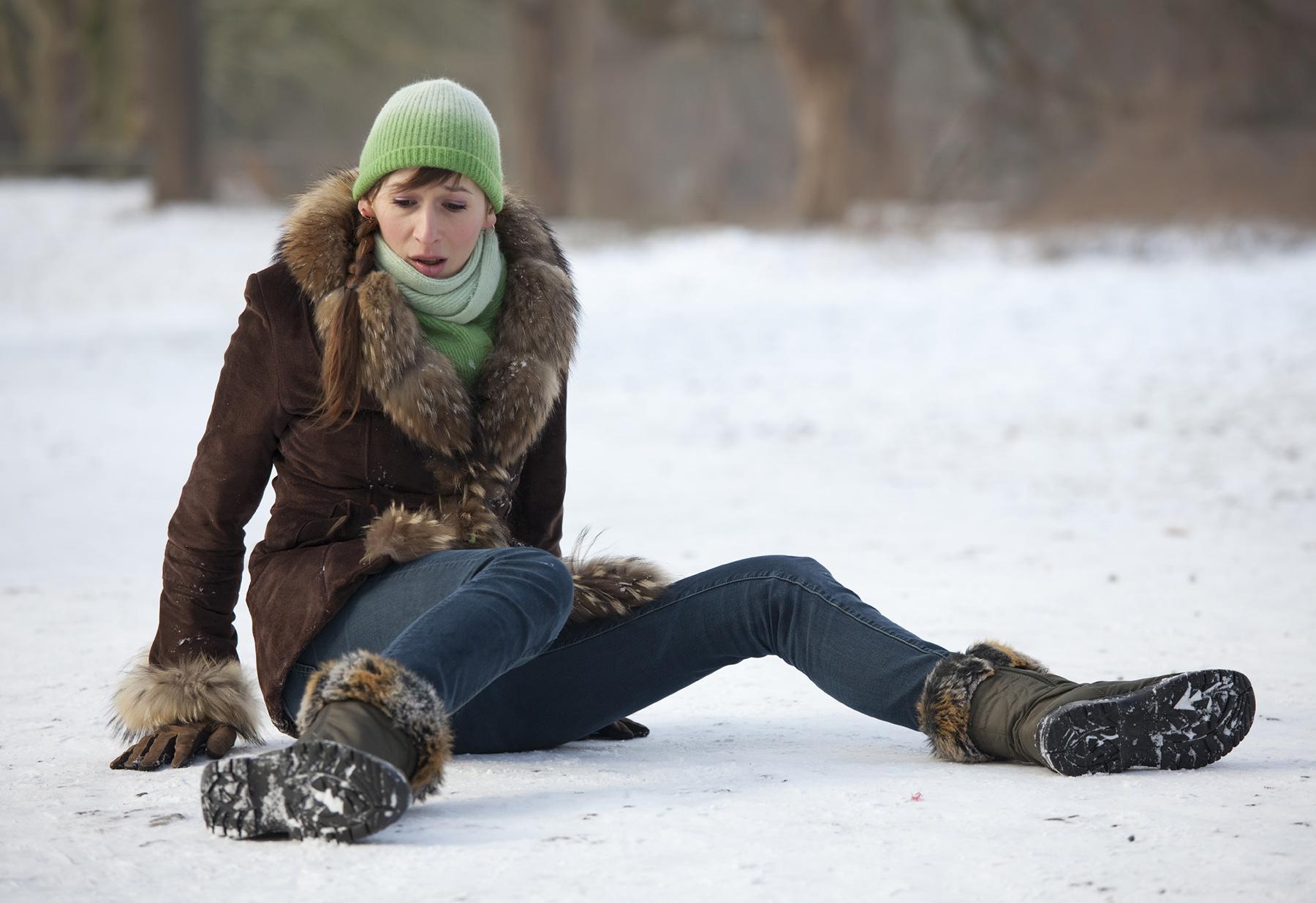 Какво правим при травма през зимата?