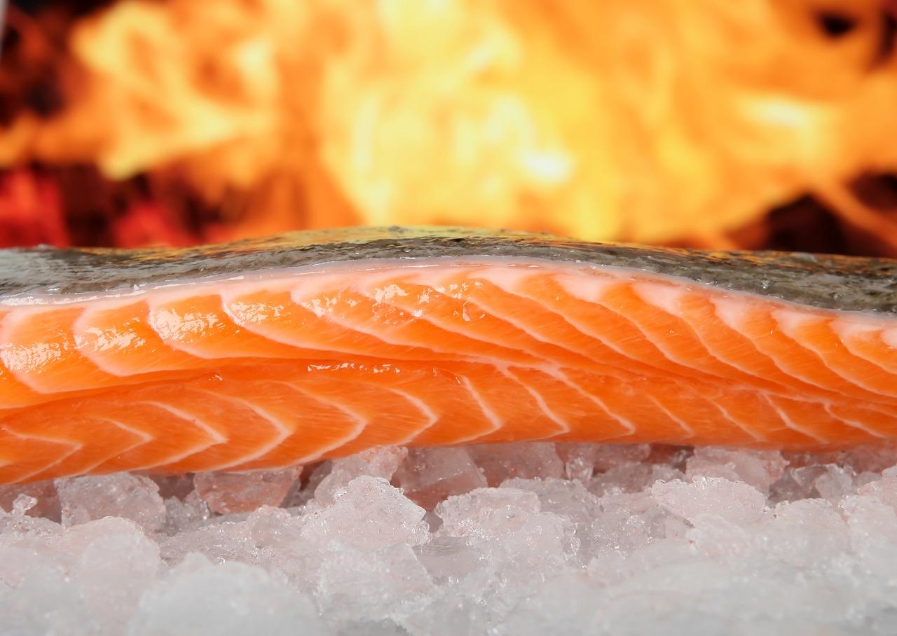 10 храни изграждат мускулите - риба