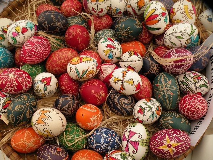 Трапезата за Великден - Великденски яйца