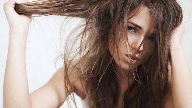 мазна коса