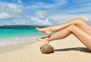 Краката са визитната ви картичка на плажа