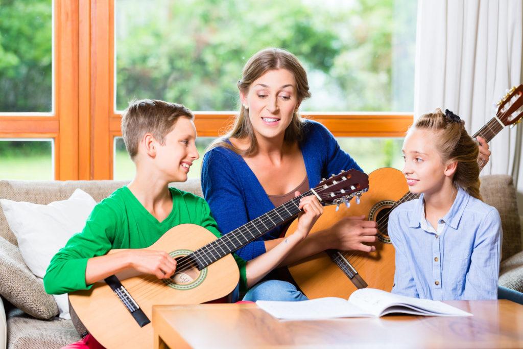 музикална терапия за деца