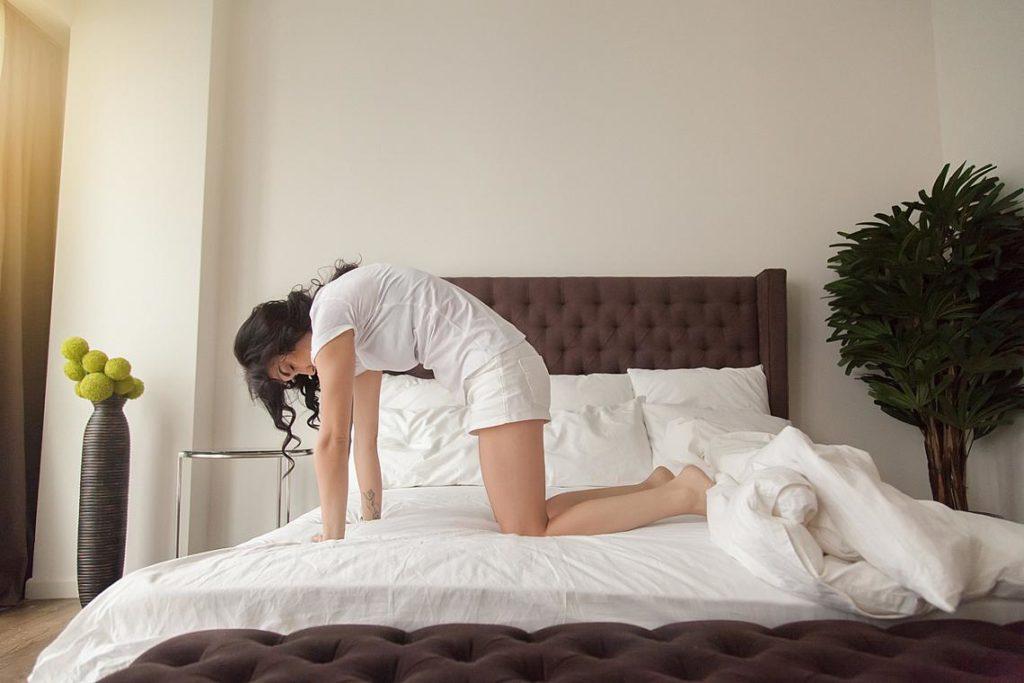Упражнения в леглото за профилактика на заболявания