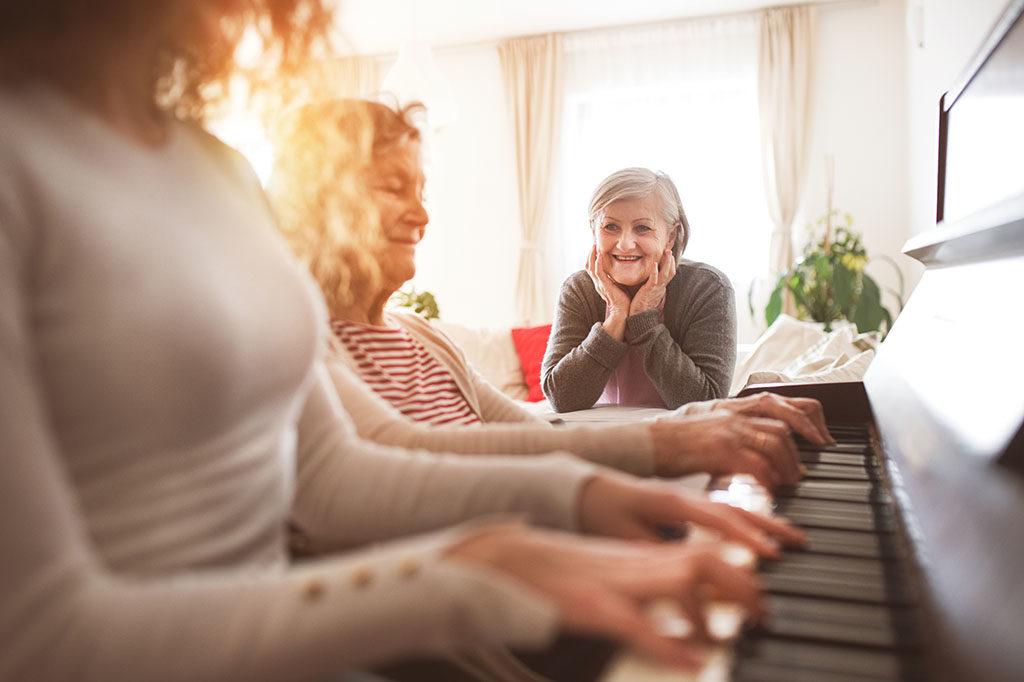 Забравете за стреса и деменцията с музикална терапия