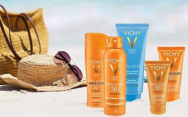 Vichy - слънчезащитни продукти