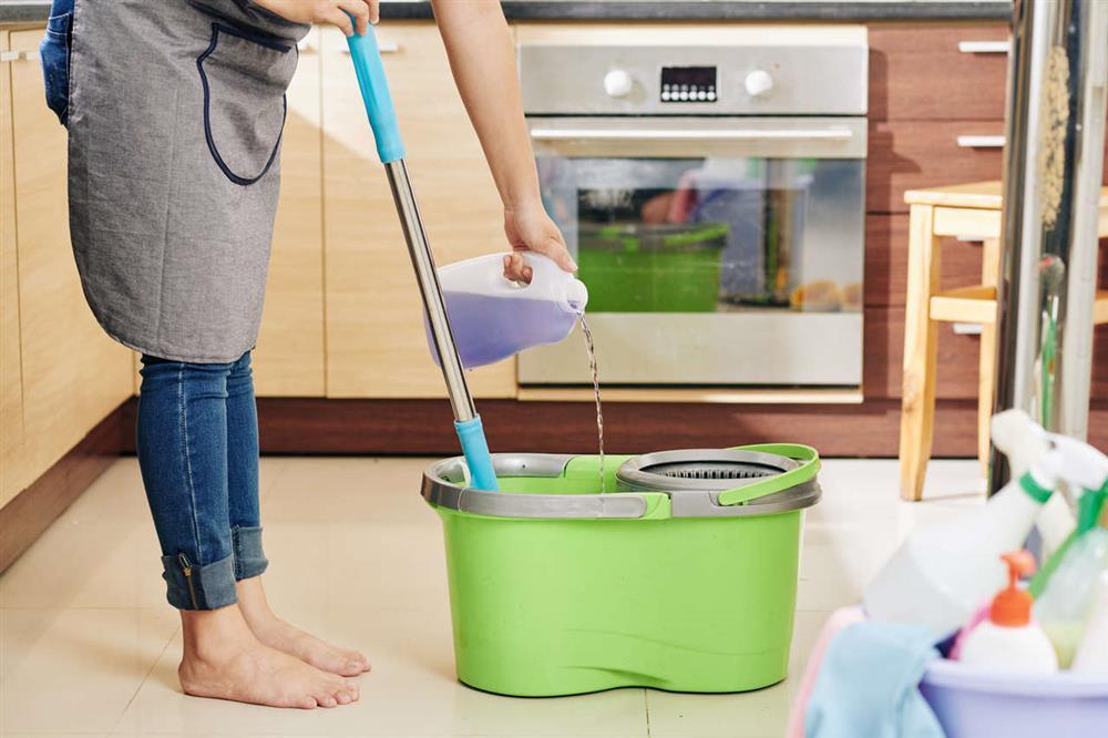 Измиване на пода